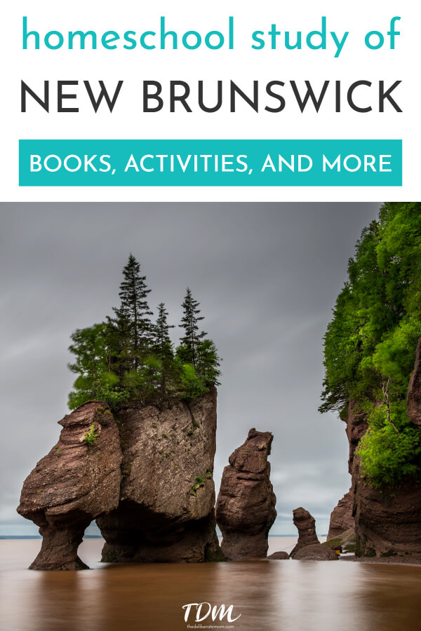 Want to teach your child about Canada? Do you want them to learn about New Brunswick? This family studied New Brunswick in their homeschool! Check out all of their fun and educational New Brunswick unit study activities! #homeschool #learningaboutcanada