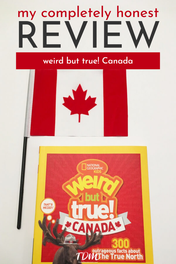 Do you want your children to get excited about learning? Do you struggle to find educational materials that excite your children! I'm so excited to share my Weird But True Canada review with you!