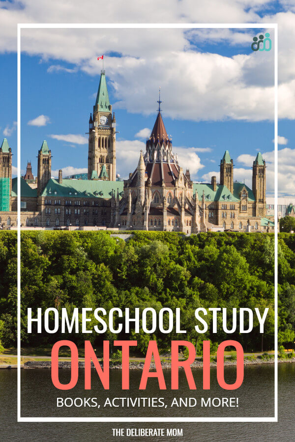 Do you want them to learn about Ontario? This family studied Ontario in their homeschool! Check out all the fun and educational Ontario unit study activities!