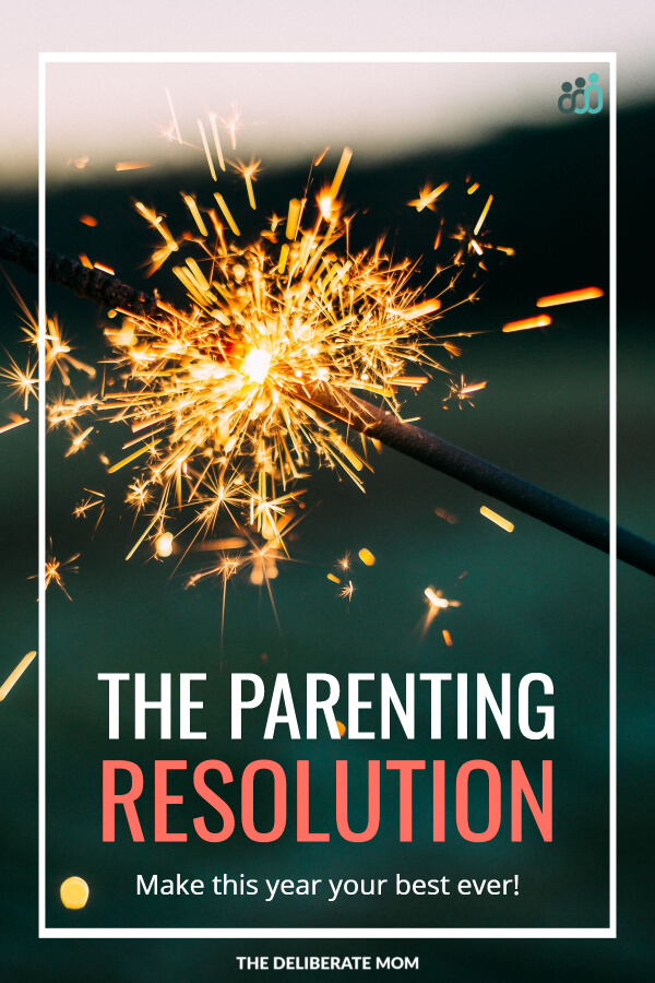What New Year's Resolution have you made? What about a parenting resolution? Join The Deliberate Mom on the journey of small steps to make this your best year, as a parent, ever!