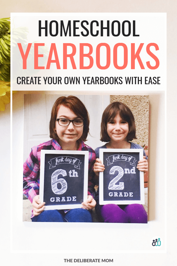 Create your own homeschool yearbooks with ease