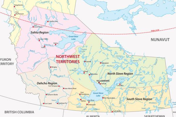 Homeschool territories unit study map