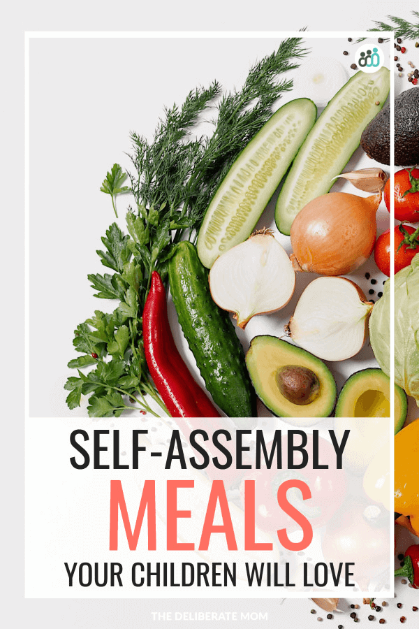 Self-assembly meals